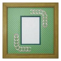 L版写真 円形 幾何学×ドット G