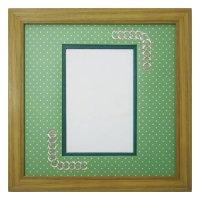 ポストカード 円形 幾何学×ドット G