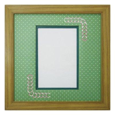 画像1: ポストカード 円形 幾何学×ドット G