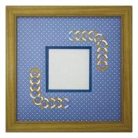 スクエア79 円形 幾何学×ドット B