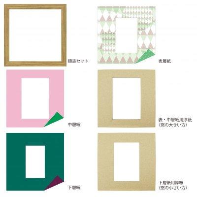 画像4: ポストカード 三角形 幾何学×ドット G