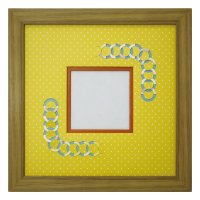スクエア79 円形 幾何学×ドット Y