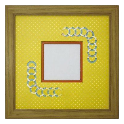 画像1: スクエア79 円形 幾何学×ドット Y