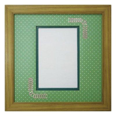 画像1: ポストカード 台形 幾何学×ドット G