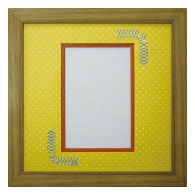 画像1: ポストカード 台形 幾何学×ドット Y