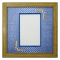 ポストカード 台形 幾何学×ドット B