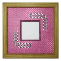 スクエア79 円形 幾何学×ドット R