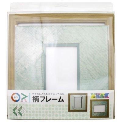 画像3: ポストカード 三角形 古紙風×小紋 G