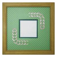 スクエア79 円形 幾何学×ドット G