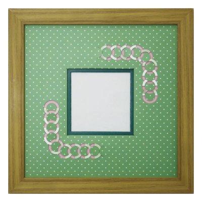 画像1: スクエア79 円形 幾何学×ドット G