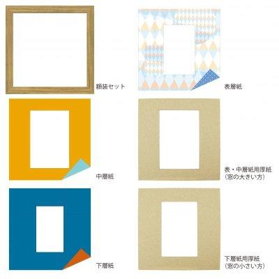 画像4: ポストカード 三角形 幾何学×ドット B
