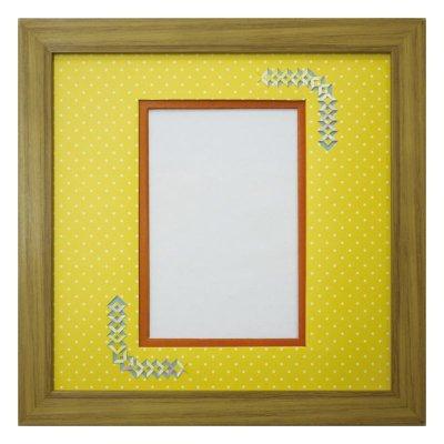 画像1: ポストカード 三角形 幾何学×ドット Y