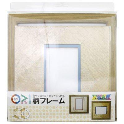 画像3: ポストカード 円形 古紙風×小紋 Y