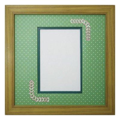 画像1: ポストカード 三角形 幾何学×ドット G