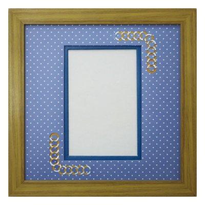 画像1: ポストカード 円形 幾何学×ドット B