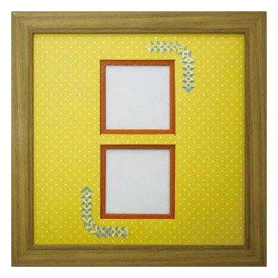 画像1: スクエア62W 三角形 幾何学×ドット Y