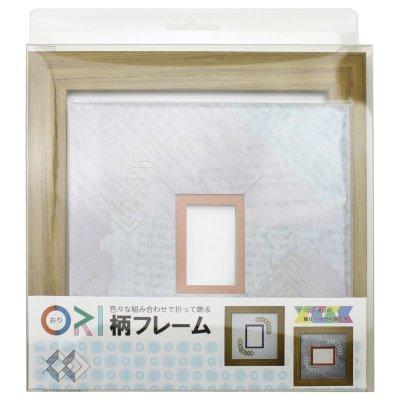 画像3: チェキS 三角形 古紙風×小紋柄 B