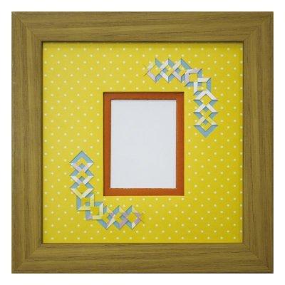 画像1: チェキS 三角形 幾何学×ドット Y