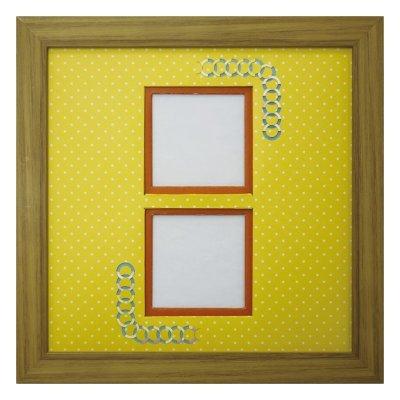画像1: スクエア62W 円形 幾何学×ドット Y