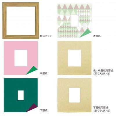 画像4: チェキS 三角形 幾何学×ドット G
