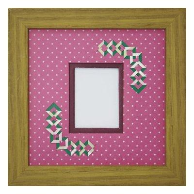 画像1: チェキS 三角形 幾何学×ドット R