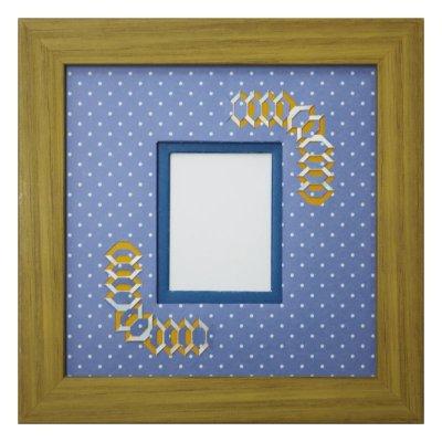 画像1: チェキS 台形 幾何学×ドット B
