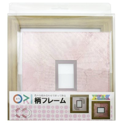 画像3: チェキS 円形 古紙風×小紋柄 R
