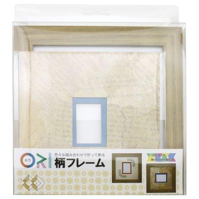 画像3: チェキS 三角形 古紙風×小紋柄 Y