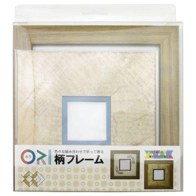 画像3: スクエア62 三角 古紙風×小紋柄 Y