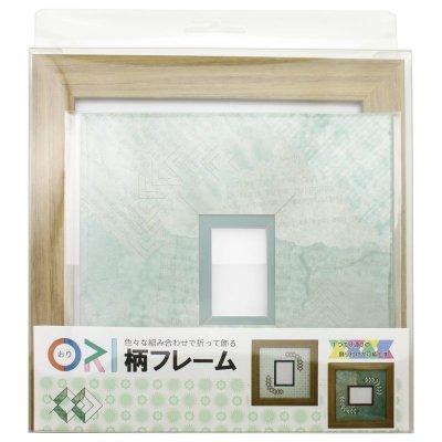 画像3: チェキS 三角形 古紙風×小紋柄 G
