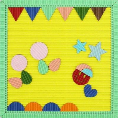 画像3: ぺたぺた 枠からつくるじっくりセット レモン×ミント